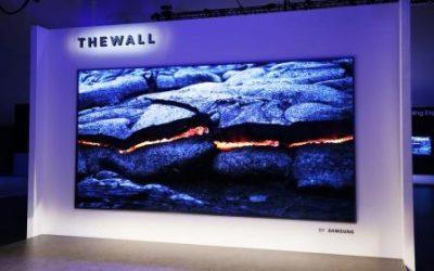 Samsung Perkenalkan 8K TV The Wall